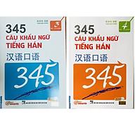 Combo 2 Cuốn 345 Câu Khẩu Ngữ Tiếng Hán Tập 3 + Tập 4 (Bản Tiếng Việt) thumbnail