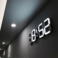 Đồng hồ LED 3D Smart Clock treo tường, để bàn. Đồng hồ kĩ thuật số, Đồng hồ đèn led thông minh RET021 thumbnail