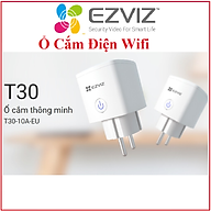 Ổ Cắm Wifi Thông Minh Ezviz T30-10A-EU Bật Tắt Thiết Bị Điện Bằng Điện Thoại Dùng Chung App vs Ezviz Hàng Chính Hãng thumbnail