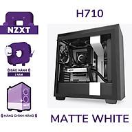 Vỏ Case Máy Tính NZXT H710 Màu Trắng Sần - Hàng Chính Hãng thumbnail