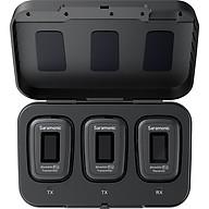 Micro Thu Âm Không Dây Saramonic Blink 500 Pro B2 (TX + TX + RX) 2 Phát + 1 Thu - Chính hãng thumbnail