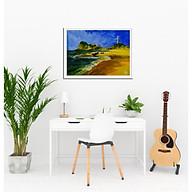 Tranh sơn dầu sáng tác BÃI VÀNG thumbnail