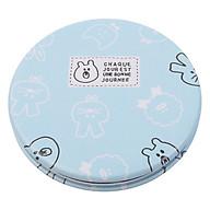 Gương Soi Mini Hai Mặt Kính Họa Tiết Dễ Thương - GU28 (Giao ngẫu nhiên mẫu) thumbnail