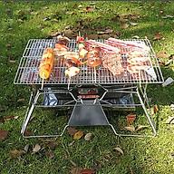Bếp nướng cắm trại ngoài trời cho 5 người sử dụng nhỏ gọn, tiện lợi MT-03 (Có túi đựng đi kèm dễ di chuyển) thumbnail