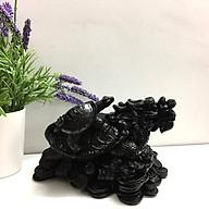 Tượng Đá Long Quy Phong Thủy - Đá Màu - Size Lớn thumbnail