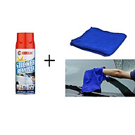 Bộ chai xịt tẩy băng dính nhựa đường và khăn lau xe thumbnail