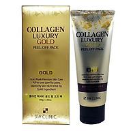 Mặt Nạ Vàng Chống Lão Hóa và Làm Trắng 3W Clinic Collagen Luxury Gold Peel Off Pack 100g - Hàn Quốc Chính Hãng thumbnail