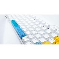 Keycap thanh spacebar tone xanh lam 6.25u trang trí bàn phím cơ. thumbnail