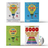 Combo 4 sách Siêu trí nhớ chữ Hán tập 01 + tập 02 + tập 03 + 5000 từ vựng tiếng Trung thông dụng nhất va DVD ta i liê u nghe thumbnail