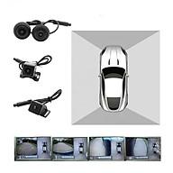 Camera hành trình 360 độ cao cấp chuẩn AHD nhãn hiệu LotusViet dành cho tất cả các loại xe ô tô có màn hình hiển thị thumbnail