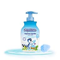 Sữa rửa tay trẻ em Saponello Ý hương Kẹo bông gòn 300ml thumbnail