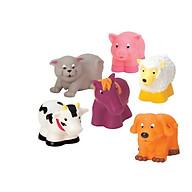 Bộ đồ chơi nhà tắm - thú nông trại BATTAT BT2603Z thumbnail
