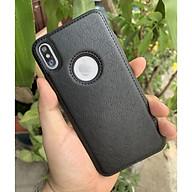 Ốp da đen cao cấp dành cho iPhone XS Max thumbnail