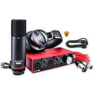 Focusrite Scarlett 2i2 Studio Gen 3 Sound Card Âm Thanh Hàng Chính Hãng - Focus USB Audio Interface SoundCard (3rd Gen3) - Kèm Móng Gẩy DreamMaker thumbnail