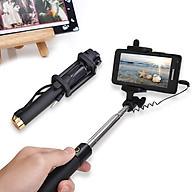 Gậy tự sướng selfie stick màu đen - Gậy chụp hình kết nối điện thoại Jack 3.5mm - Hàng Chính Hãng Like Tech thumbnail