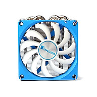 Jonsbo HP-400 CPU Cooling Fan Ultra-Thin Mute CPU Cooler 4 Heat Pipes Radiator for HTPC ITX Case All-In-One Computer thumbnail