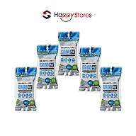 Combo 5 gói Khăn ướt vệ sinh và khử trùng thiết bị 15 miếng ELECOM WC-AG15P - Hàng nhập khẩu thumbnail