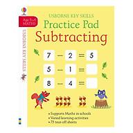 Usborne Key Skills Practice Pad Subtracting 5-6 thumbnail