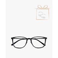 aojo - Gọng kính chữ nhật thời trang AJ104FF202-BKC1 thumbnail