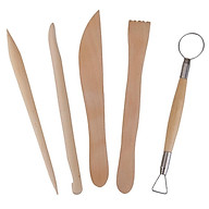 1pack Pottery Clay Sculpture Carving Tool Set thumbnail