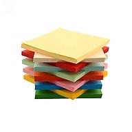 Giấy thủ công Origami 100 tờ 8X8cm nhiều màu, giấy xếp cò, giấy thủ công học sinh, siêu tiết kiệm thumbnail