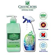 GREEN CROSS NƯỚC - Combo 8 Chai Gel Rửa Tay GREEN CROSS dung tích 500ml chai TẶNG KÈM 2 chai Green Cross A2 500ml chai thumbnail