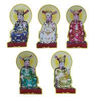 Tranh Bộ Ngũ vị Tôn Quan - Xốp fomex 60cm thumbnail