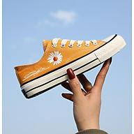 Giày thể thao nữ cổ thấp CV Cúc Họa Mi thời trang V230 - Cam - Size 35 thumbnail