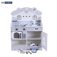 Đồ chơi nấu ăn BBT Global bếp gỗ cao cấp MSN19030 thumbnail