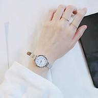 Đồng hồ nữ dây da thời thanh lịch cho các cô nàng công sở ZO41 thumbnail