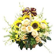 Giỏ Hoa May Mắn B45035 thumbnail