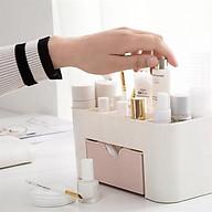 Kệ đựng mỹ phẩm mini đẻ bàn bằng nhựa Giao màu ngẫu nhiên thumbnail