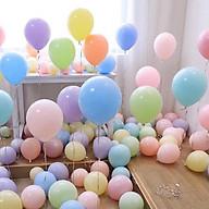 Combo 50 bóng bay trang trí sinh nhật, đám cưới tông màu pastel siêu đẹp Macaron-102 (pha màu ngẫu nhiên) thumbnail