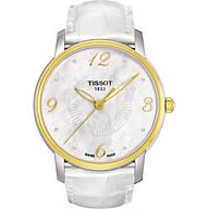 Đồng Hồ Nữ Dây Da Tissot T052.210.26.116.00 (38mm) - Xà Cừ thumbnail