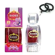 Nhụy hoa nghệ tây Iran Badiee Saffron 1gam - Tặng 1 vòng tay gỗ Mun 12ly thumbnail