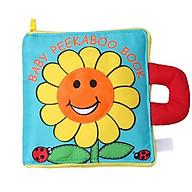 Sách vải - Cuốn sách vải Trốn tìm của những chú côn trùng - Baby Peekaboo book thumbnail