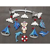 Treo nôi handmade màu sắc thủy thủ cho bé thumbnail