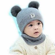 Set khăn và mũ len cho bé từ 3 tháng tới 4 tuổi thumbnail
