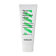 Mặt Nạ Bùn Khoáng Tinh Chất Vàng 24K Hellocell Real Mud Peel-off Mask 80ML thumbnail