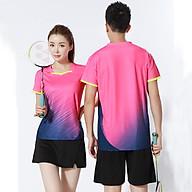 Áo thể thao cầu lông Nam Sunbatta Y-W2001 chất liệu 100% Polyester, nhẹ nhàng, khô thoáng, nhanh khô, không lưu lại mùi và vệt mồ hôi trên áo thumbnail