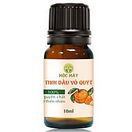 Tinh dầu Vỏ Quýt 10ml Mộc Mây - tinh dầu thiên nhiên nguyên chất 100% - chất lượng và mùi hương vượt trội thumbnail