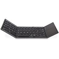 Bàn Phím Bluetooth có mặt di chuột cho Laptop tablet điện thoại AB033 thumbnail