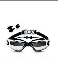 Kính bơi tráng gương gồm Bịt Tai + Kẹp Mũi, kính bơi ngăn UV thời trang cao cấp. thumbnail