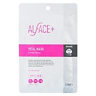Mặt Nạ Siêu Dưỡng Ẩm Nhật Bản Alface Vital Mask, Dành Cho Da Khô Và Lão Hóa, Bảo Vệ Da Với 17 Loại Axit Amin, Ceramide, Chất Chống Oxy Hóa, HA, Collagen thumbnail