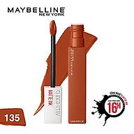 Son Kem Lì Maybelline Super Stay Matte Ink 5ml - Màu 135 Globetrotter thumbnail