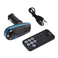 Bt618C Bluetooth Car Mp3 Black Blue thumbnail