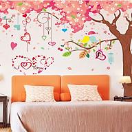 Decal dán tường hoa đào mùa xuân 3 mảnh xl9012 thumbnail