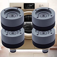 Bộ 4 miếng đệm cao su lót chân máy giặt chống rung chống ồn thumbnail