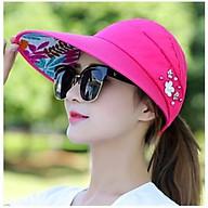 Nón đẹp thời trang đi chơi, chụp hình và đội kèm mũ bảo hiểm che nắng và chống nắng cực mát thumbnail