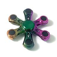 Con Quay Hand Fidget Spinner 6 cánh mạ titan 90-150 giây Legaxi HSCG thumbnail